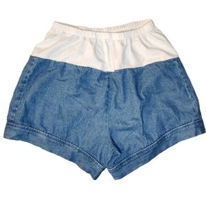 In Due Time Maternity  denim Shorts